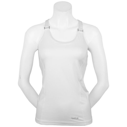 Bolle Club Whites Racerback Tank: Bolle Women's Tennis Apparel