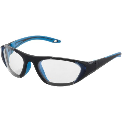 Bolle Field Eyeguards Black/Blue: Bolle Eyeguards