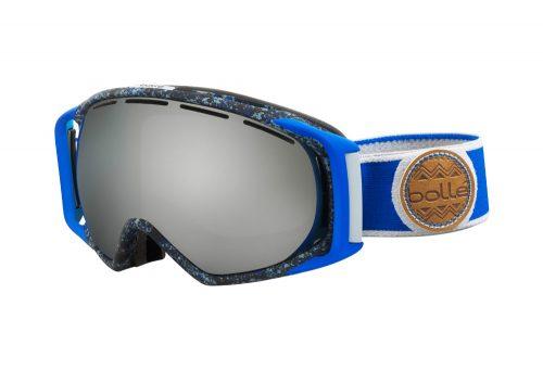 Bolle Gravity Goggles - blue & grey splatter black grome, adjustable