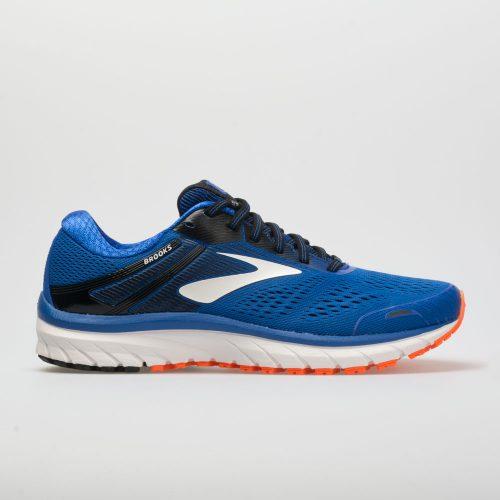 Brooks Adrenaline GTS 18: Brooks Men's Running Shoes Blue/Black/Orange