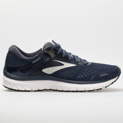 Brooks Adrenaline GTS 18: Brooks Men's Running Shoes Navy/Grey/Black