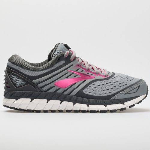 Brooks Ariel 2018: Brooks Women's Running Shoes Grey/Grey/Pink