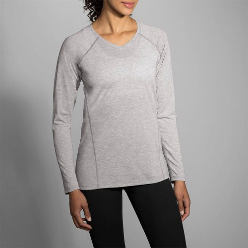 Brooks Distance Long Sleeve Top: Brooks Women's Running Apparel