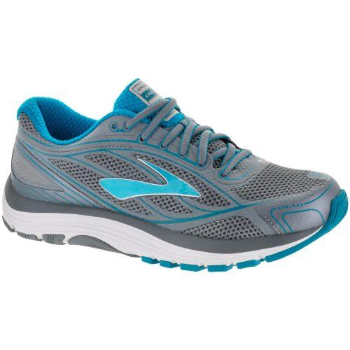 Brooks Dyad 9: Brooks Women's Running Shoes Primer Grey/Capri Breeze/Silver