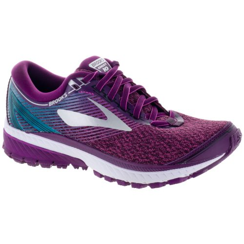 Brooks Ghost 10: Brooks Women's Running Shoes Purple/Pink/Teal