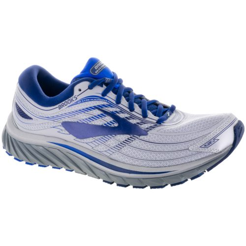 Brooks Glycerin 15: Brooks Men's Running Shoes Silver/Navy/Blue