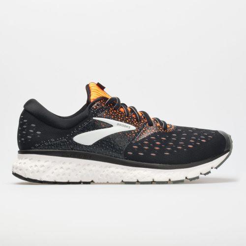 Brooks Glycerin 16: Brooks Men's Running Shoes Black/Orange/Grey