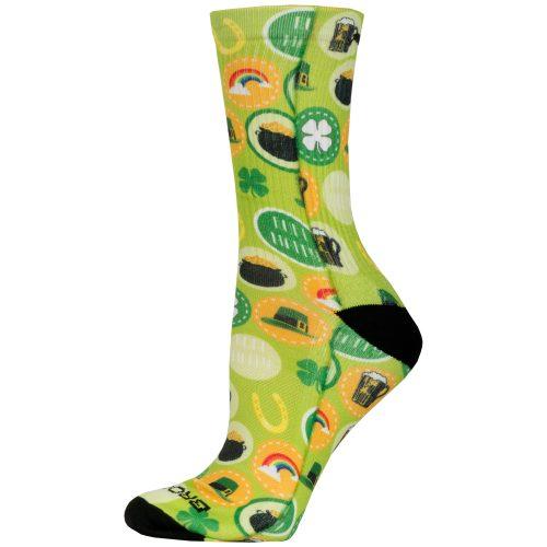 Brooks Pacesetter Crew St.Paddy's Day 2017 Socks: Brooks Socks