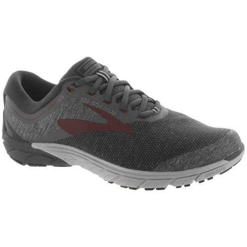 Brooks PureCadence 7: Brooks Men's Running Shoes Ebony/Dark Red/Black
