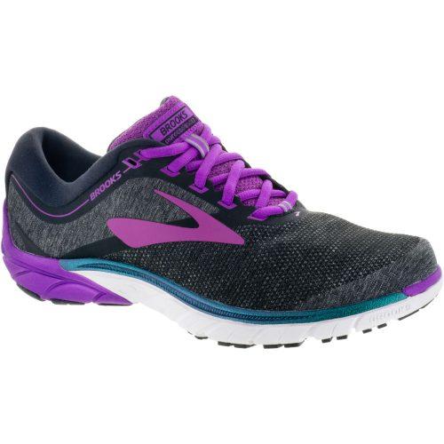Brooks PureCadence 7: Brooks Women's Running Shoes Black/Purple/Multi