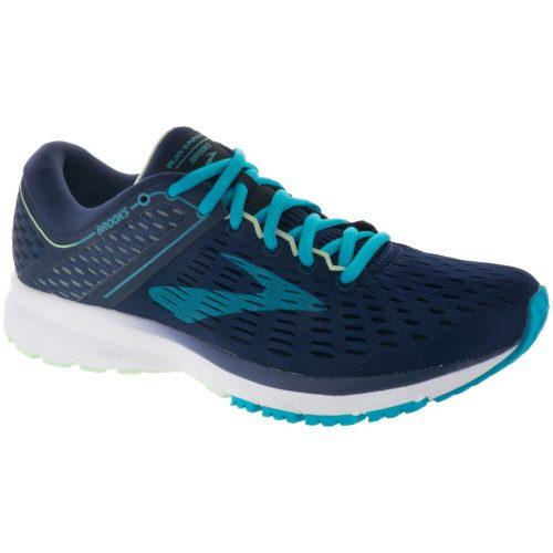 Brooks Ravenna 9: Brooks Women's Running Shoes Navy/Blue/Green