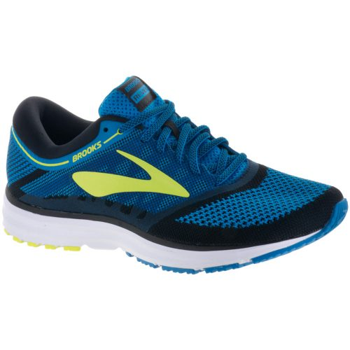 Brooks Revel: Brooks Men's Running Shoes Methyl Blue/Lime Popsicle/Black