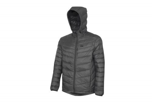 CIRQ Cascade Hooded Down Jacket - Men's - charcoal, large