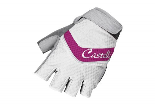Castelli Elite Gel Glove - Women's - fuchsia/white, large