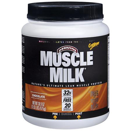 CytoSport Muscle Milk Protein Powder Chocolate - 1.93 lbs