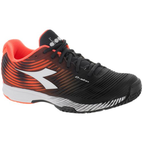 Diadora Speed Competition 4 AG: Diadora Men's Tennis Shoes Orange/Black