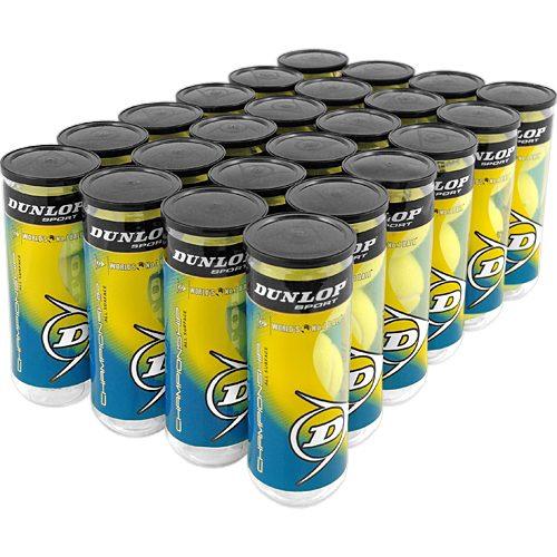 Dunlop Championship All Surface 24 Cans: Dunlop Tennis Balls