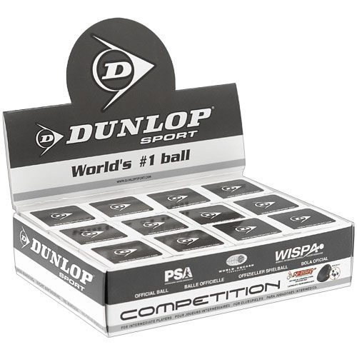 Dunlop Competition 12 Balls: Dunlop Squash Balls