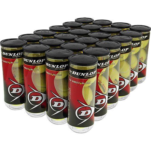 Dunlop Grand Prix All Surface 24 Cans: Dunlop Tennis Balls