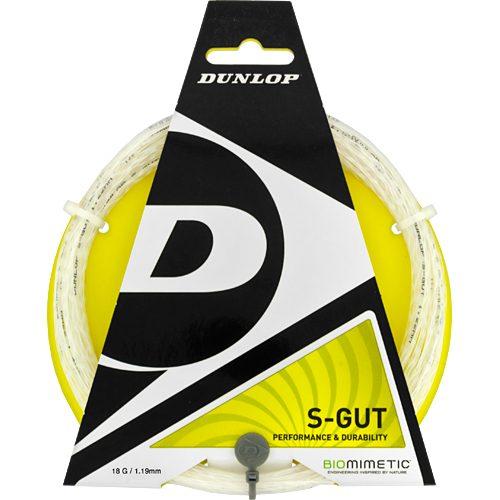 Dunlop S-Gut 18G: Dunlop Tennis String Packages