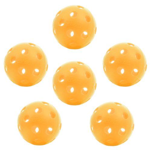 Dura Outdoor Pickleball 6 Pack: PickleballCentral Pickleball Balls