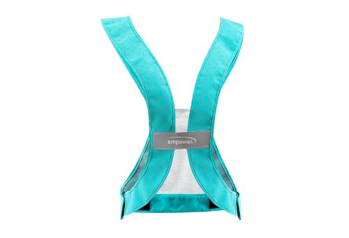 Empower Reflective Safety Vest - teal/grey, one size