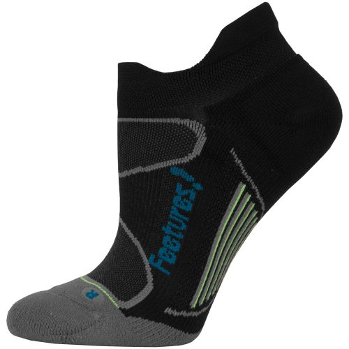 Feetures Elite Light Cushion No Show Tab Socks: Feetures Socks