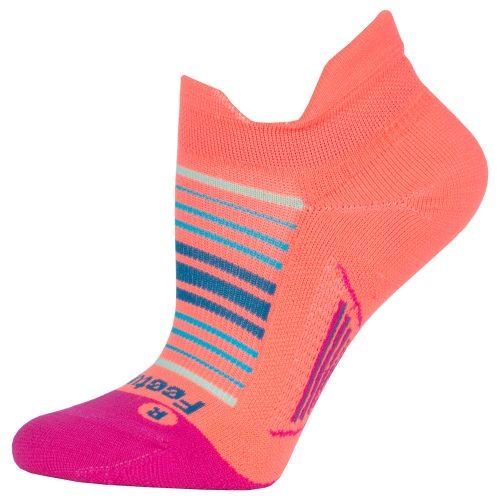 Feetures Elite Light Cushion Sunrise Collection No Show Tab Socks: Feetures Socks