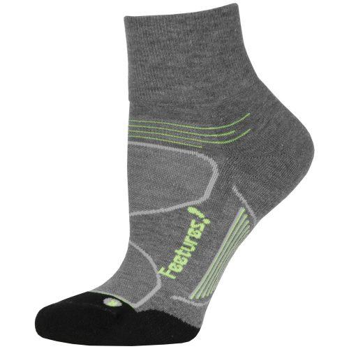 Feetures Elite Max Cushion Quarter Socks: Feetures Socks