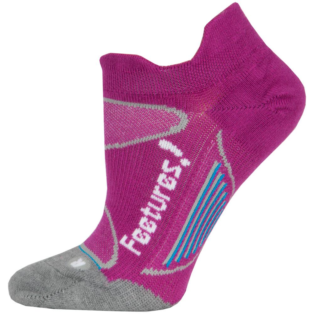 Feetures Elite Merino+ Ultra Light No Show Tab Socks: Feetures Socks