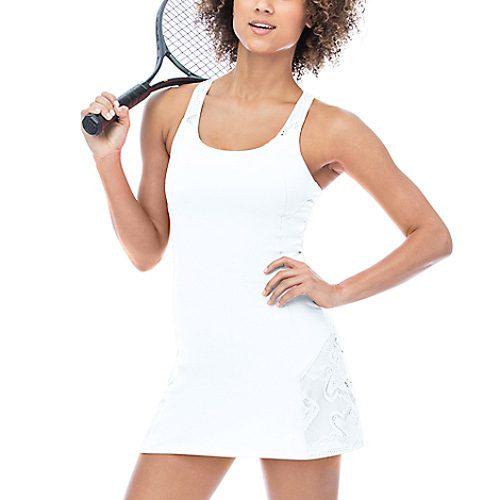 Fila Ace in Lace Racerback Dress: Fila Women's Tennis Apparel