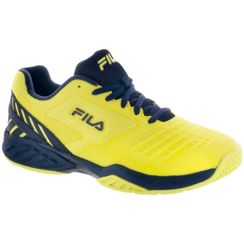 Fila Axilus Energized: Fila Men's Tennis Shoes Lemon Tonic/Navy/Lemon Tonic