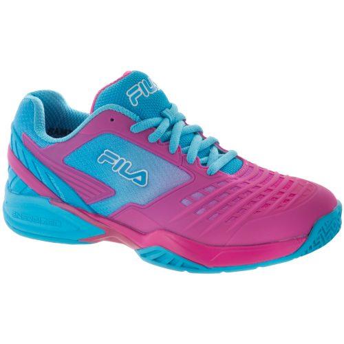 Fila Axilus Energized: Fila Women's Tennis Shoes Raspberry Rose/Blue Atoll/Blue Atoll