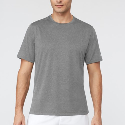 Fila Fundamental Heather Crew: Fila Men's Tennis Apparel
