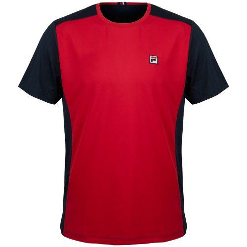 Fila Heritage Color Blocked Crew: Fila Men's Tennis Apparel