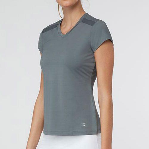 Fila Simply Smashing Cap Sleeve Top: Fila Women's Tennis Apparel
