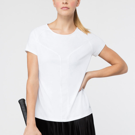 Fila Sleek Short Sleeve Top: Fila Women's Tennis Apparel