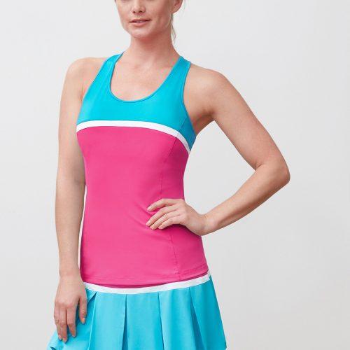 Fila Sweetspot Colorblocked Tank: Fila Women's Tennis Apparel
