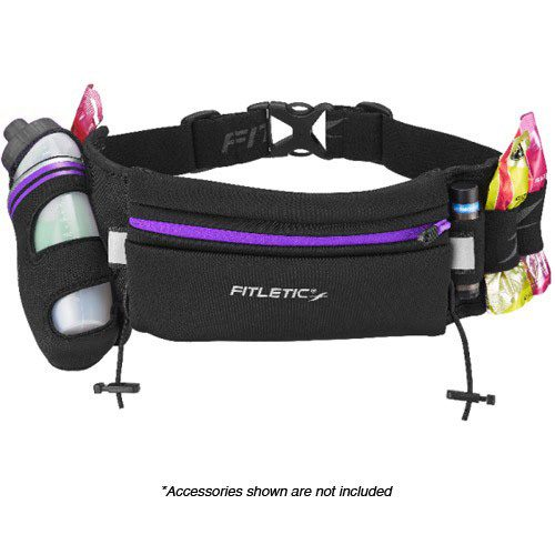 Fitletic Fully Loaded Water and Gel Belt: Fitletic Hydration Belts & Water Bottles