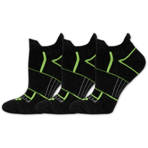 Fitsok ISW Isolwool No Show Socks 3 Pack: Fitsok Socks
