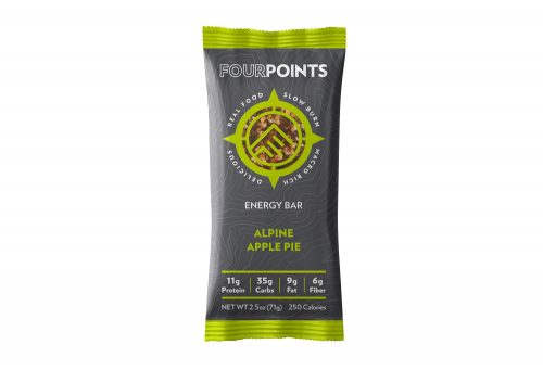 Fourpoints Alpine Apple Pie Bar - Box of 12 - alpine apple pie, box of 12