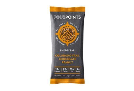 Fourpoints Colorado Trail Chocolate Peanut Bar - Box of 12