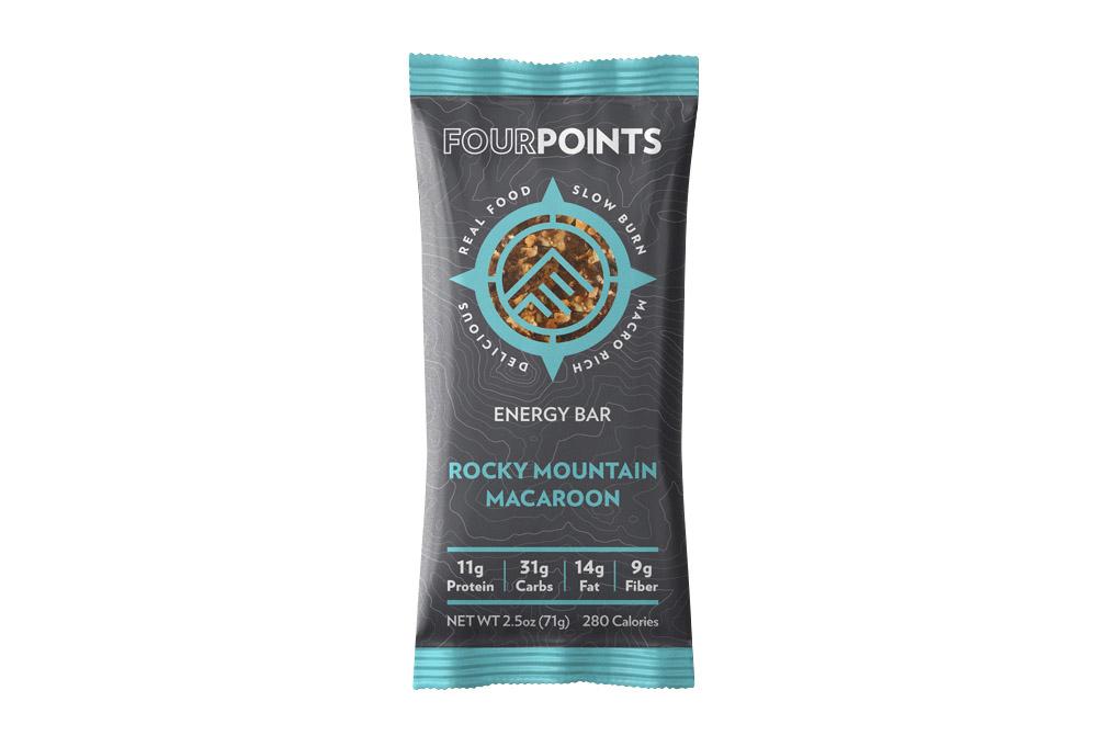 Fourpoints Rocky Mountain Macaroon Bar - Box of 12 - rocky mountain macaroon, box of 12