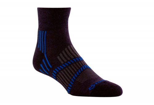 Fox River Lightweight 1/4 Crew Socks - bean blue/skydriver blue/grey, small