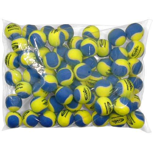 Gamma 2 Tone Pressureless Bag of 60: Gamma Tennis Balls