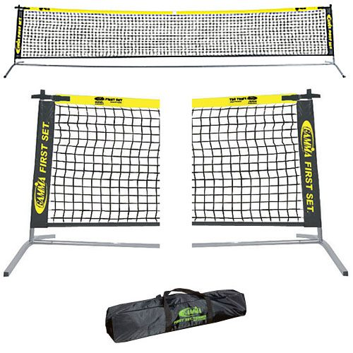 Gamma First Set 18' Junior Tennis Net: Gamma Tennis Training Aids