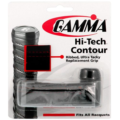 Gamma Hi-Tech Contour Replacement Grip: Gamma Tennis Replacet Grips