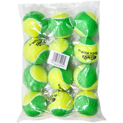 Gamma Quick Kids 78 Soft Full Court 12 Pack: Gamma Tennis Balls