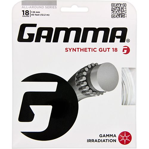 Gamma Synthetic Gut 18: Gamma Tennis String Packages