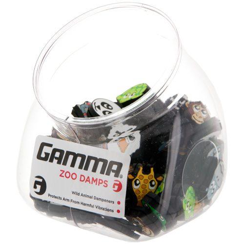 Gamma Zoo Damps Jar of 60: Gamma Vibration Dampeners